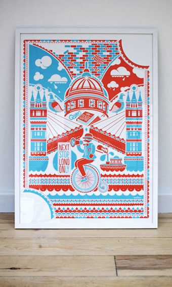 'London Only' Print
